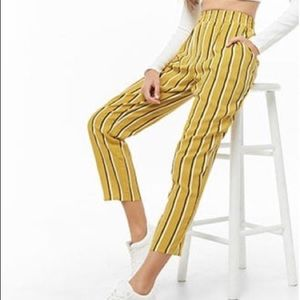 Striped forever 21 pants